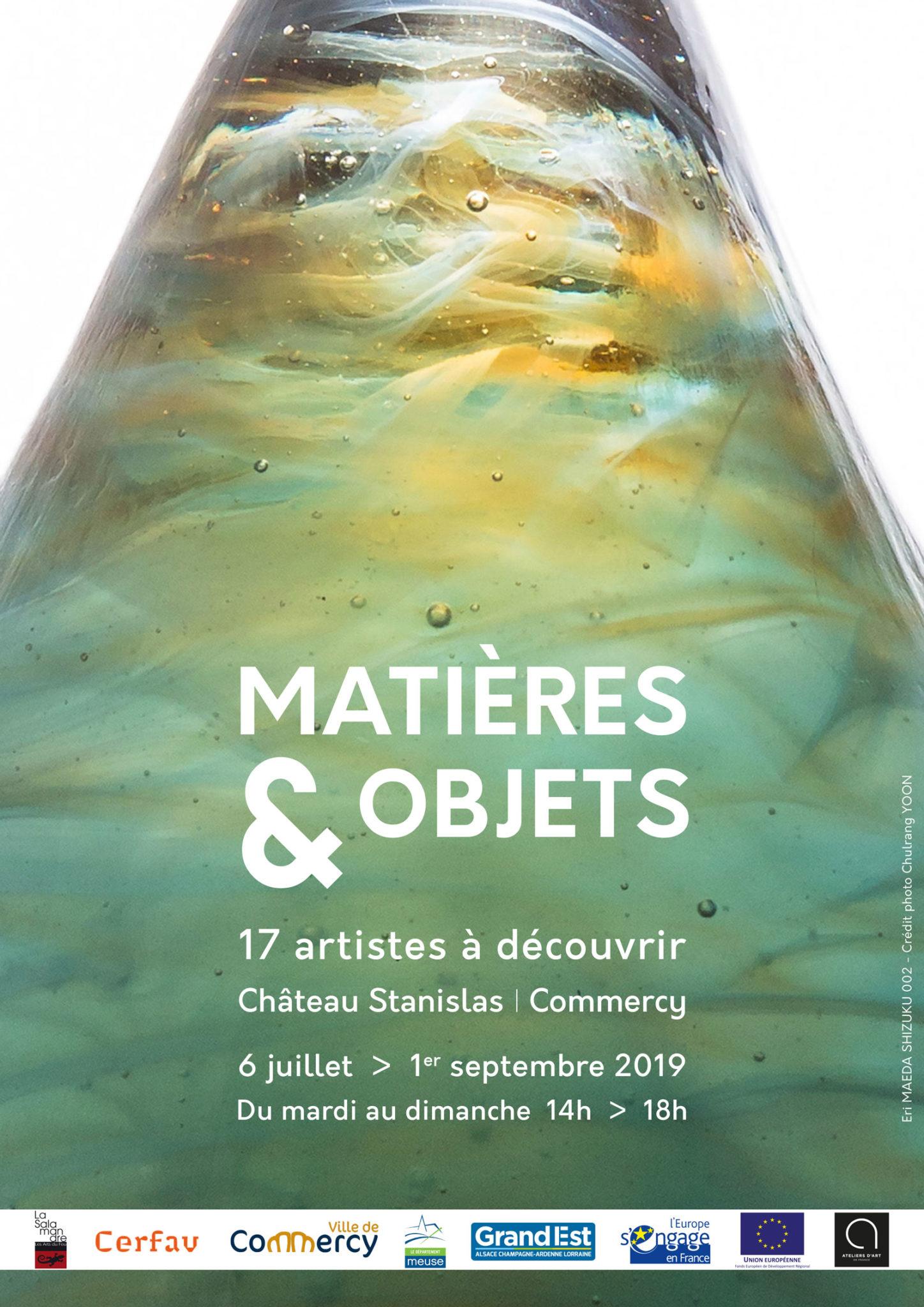 Affiche Matières et Objets