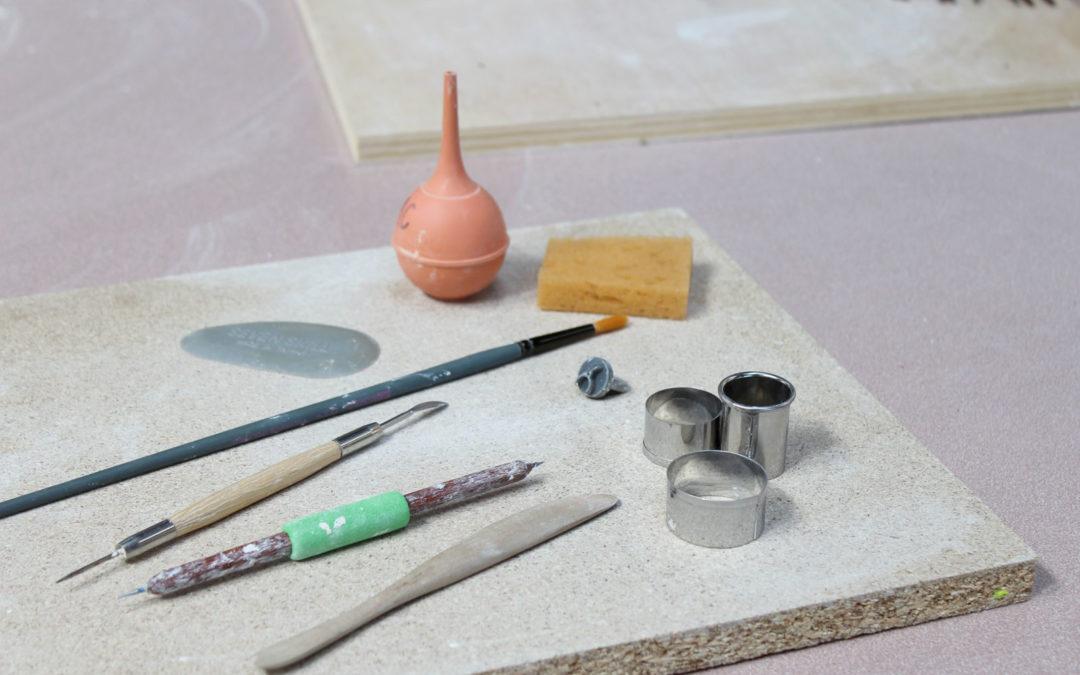 Une petite visite virtuelle de mon atelier de céramique !